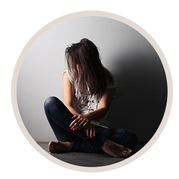 Girl in need of addiction treatment centers in Eau Claire, Menomonie, and River Falls