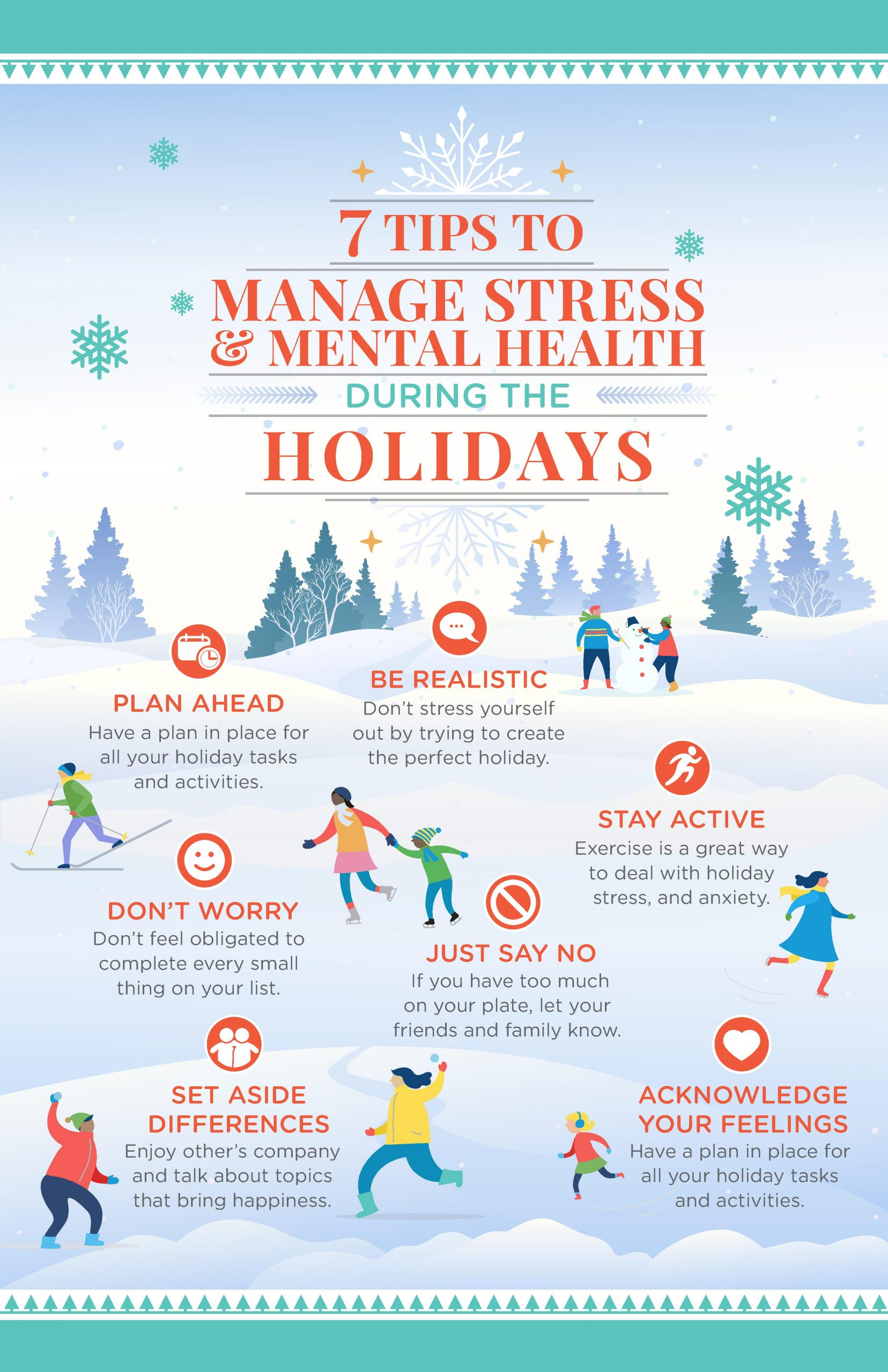 How to Manage Stress & Mental Health During the Holidays ...
